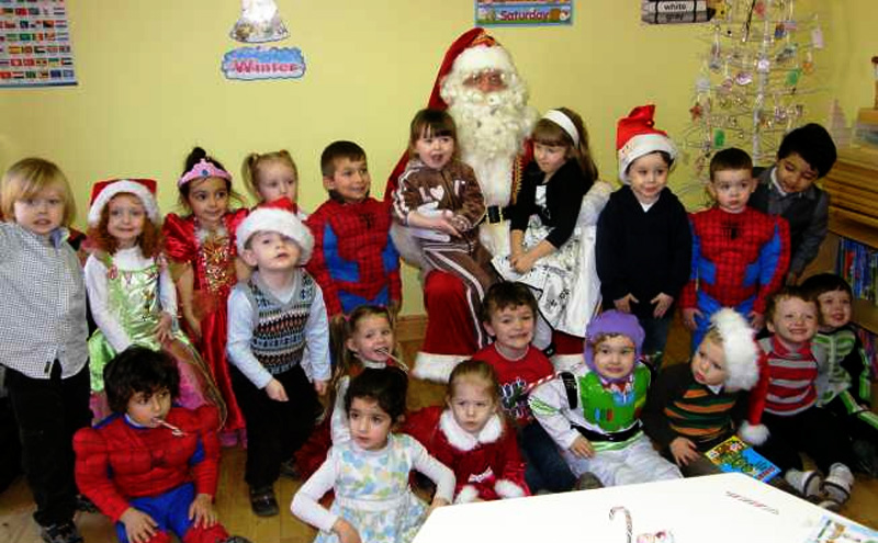 Santa Visiting Bee Smart Montessori